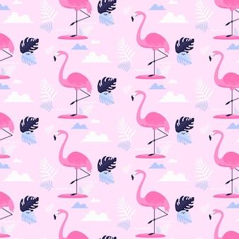 Flamingomuster