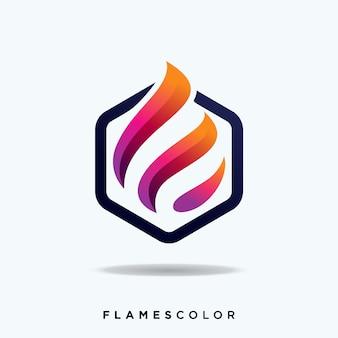 Flammen-logo