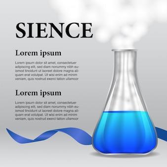 Flasche für Präsentation oder Poster Infografik