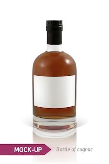 Flaschen cognac