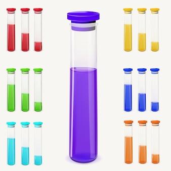Flaschen trank gesetzt