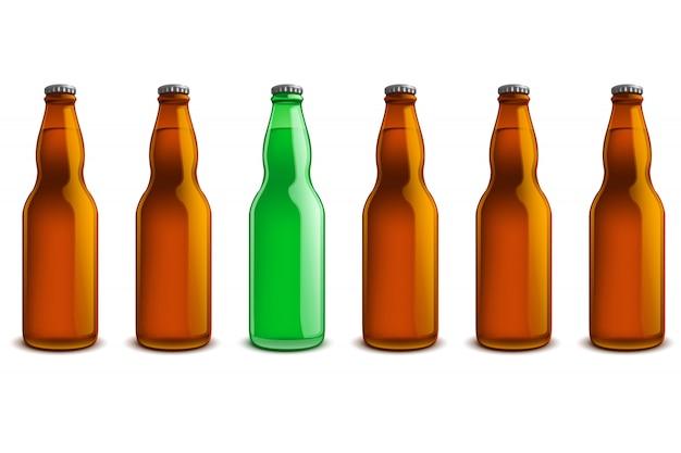 Flaschenzeile