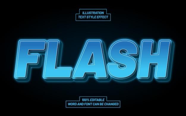 Flash-textstil-effekt