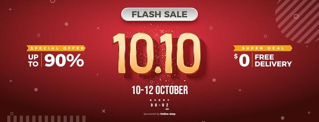 Flash-verkauf bei 1010 mit kostenlosem versand-promo