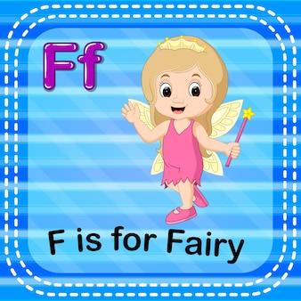 Flashcard buchstabe f ist für fee