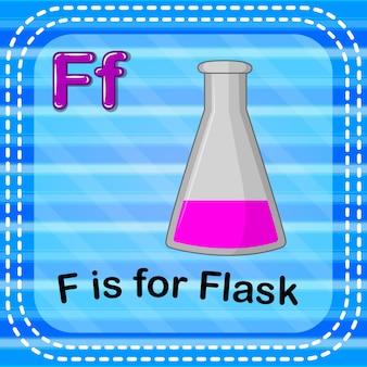 Flashcard buchstabe f ist für kolben