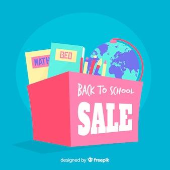 Flat back to school sales