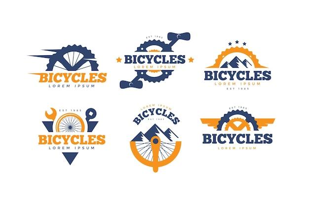 Flat bike logo kollektion