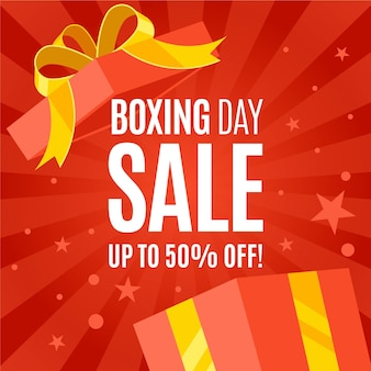 Flat boxing day sale