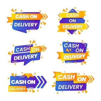 Flat cash on delivery - abzeichensammlung