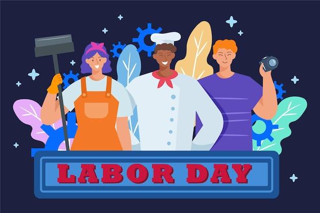 Flat labor day sale usa