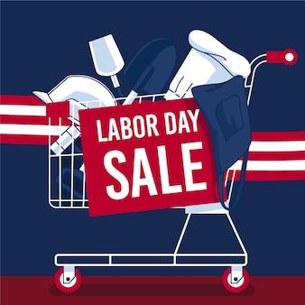 Flat labour day usa verkauf