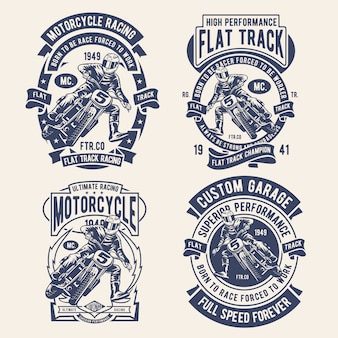 Flat track design