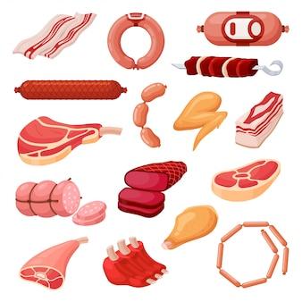 Fleischwaren eingestellt
