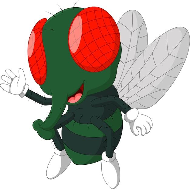 Fliege cartoon