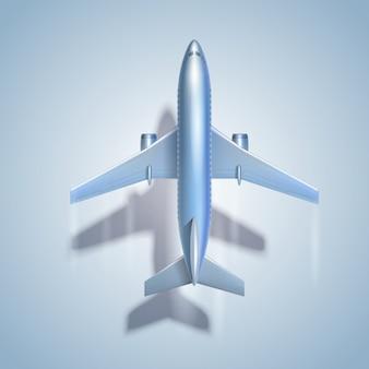 Fliegende flugzeug symbol