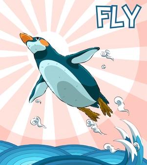 Fliegender pinguin