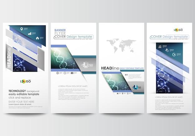 Flieger eingestellt, moderne banner. cover-designvorlage.