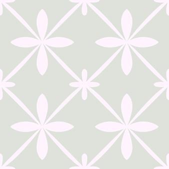Fliese portugal nahtlose muster. geometrischer schwarzweiss-hintergrund. traditionelle azulejo-wiederholungsverzierung. vektor monochromes muster. abstrakter vintage-druck für stoff, verpackung.