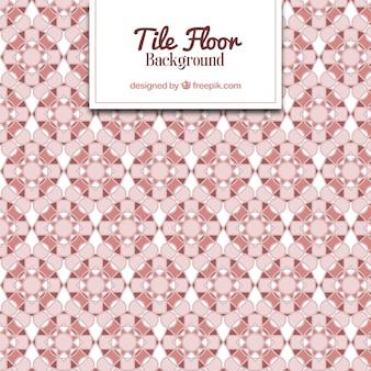 Fliesenboden in den rosafarbenen tönen