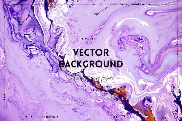 Fließende kunstbeschaffenheit. abstrakter mischfarbeneffekt. flüssiges acrylbild mit flüssen und spritzern