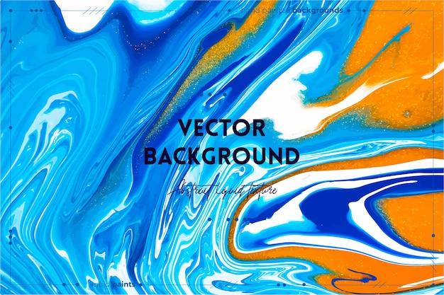 Fließende textur. hintergrund mit abstraktem wirbelndem farbeffekt.