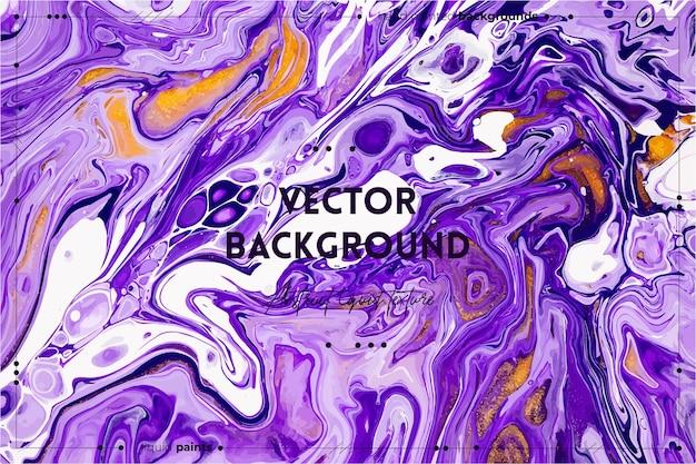 Fließende textur mit abstraktem mischfarbenhintergrund.