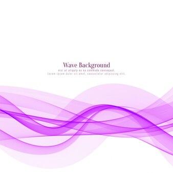 Fließender designhintergrund der rosa welle