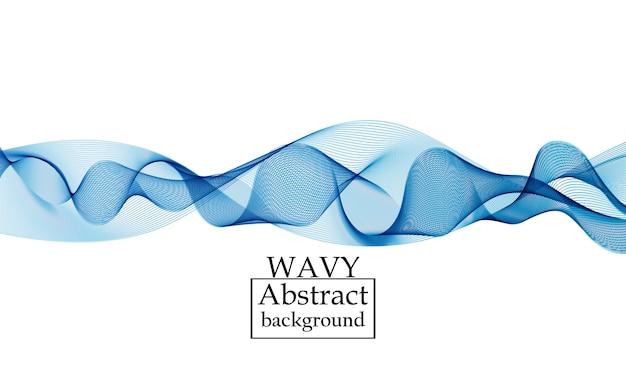 Fließformen. flüssigkeitswellenhintergrund. abstrakte strömungsform.