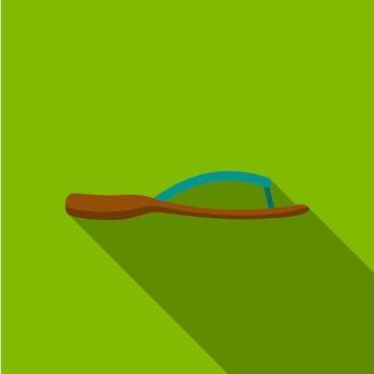 Flip-flop-flaches symbol illustration isoliert vektor-zeichen-symbol