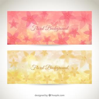 Floral background Satz