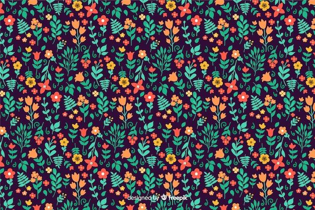 Floral ditsy hintergrund