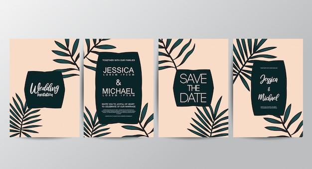 Floral einladungskarten