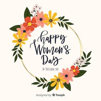 Floral Frauentag Hintergrund