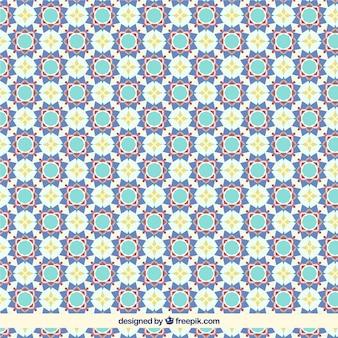 Floral geometrischen fliesenmuster