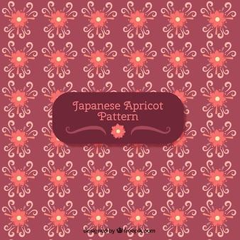 Floral hintergrund im japanischen stil