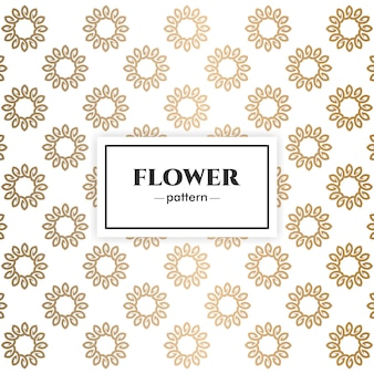 Floral luxus-musterdesign