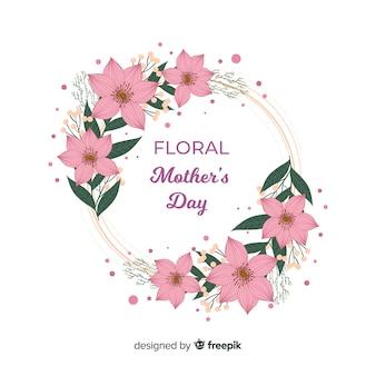 Floral muttertag hintergrund