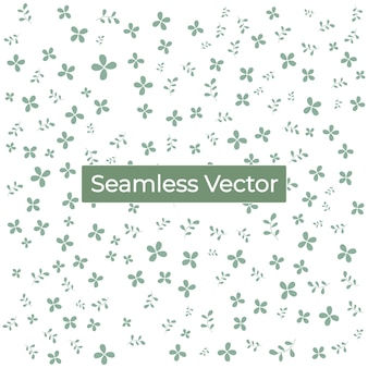 Floral nahtlose muster hintergrund premium-vektor