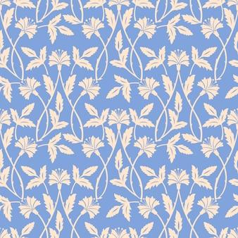 Florales ornamentales muster