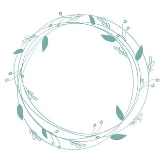 Flourishkalligraphie-weinlesefeiertagsrahmen und -platz für text.