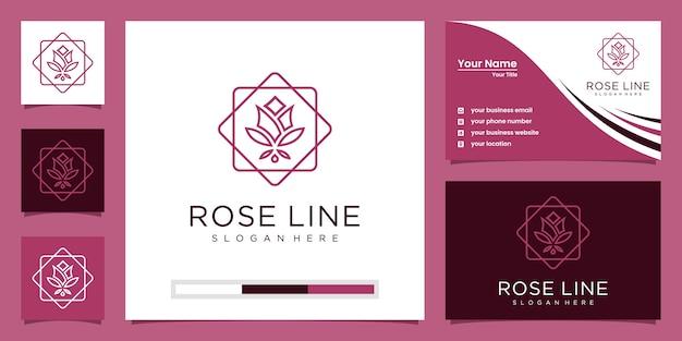 Flower rose luxus-schönheitssalon, mode, hautpflege, kosmetik, yoga und spa-produkte.