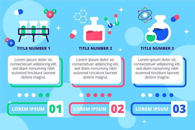 Flt design science infografik