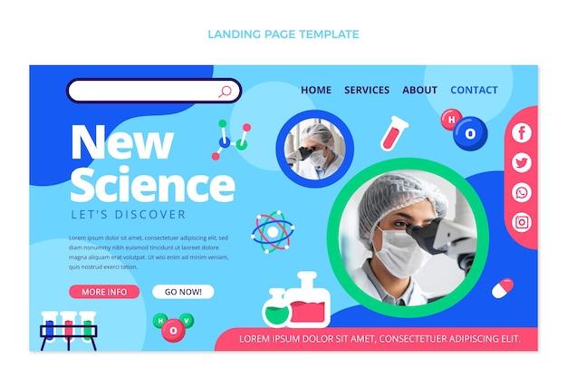 Flt design science landingpage