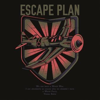Fluchtplan