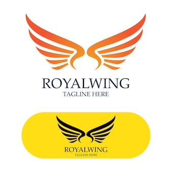 Flügel-logo-design-falken-vogel-vektor-bild
