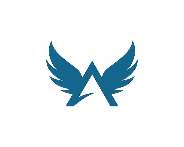 Flügel logo vorlage