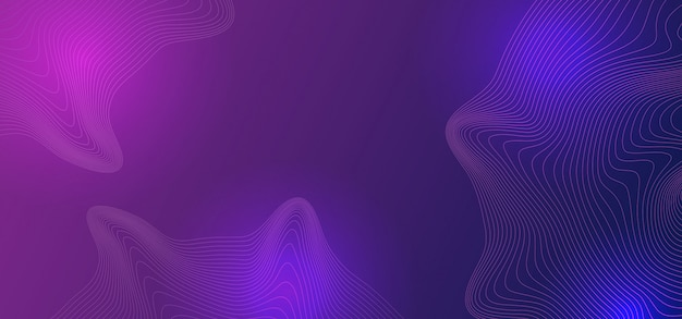 Flüssiger abstrakter hintergrund mit modernen ultravioletten farben