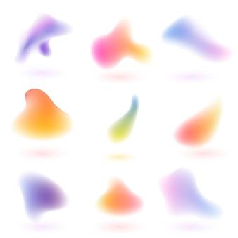 Flüssiger farbverlauf