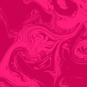 Flüssiger hintergrund des modernen marmors im rosa